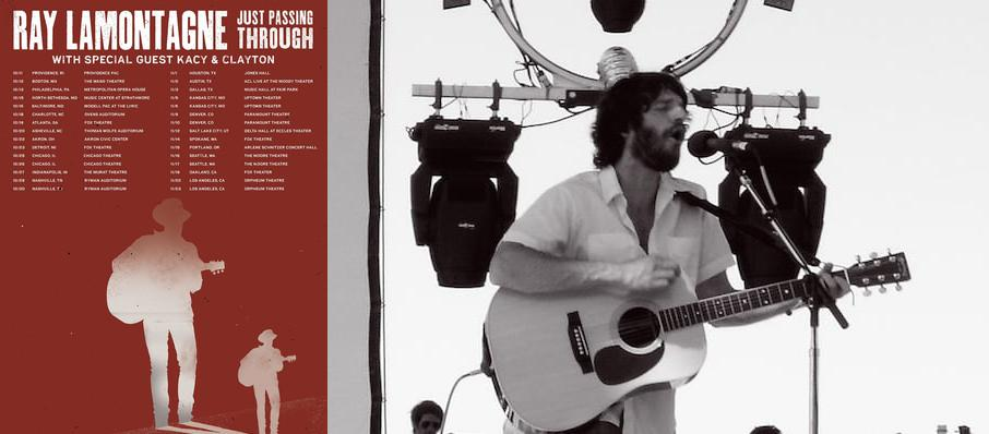 Ray LaMontagne at Jacobs Music Center