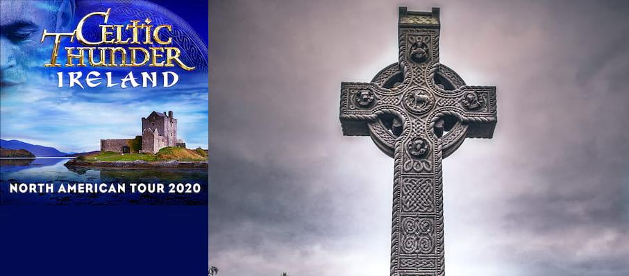 Celtic Thunder at Balboa Theater