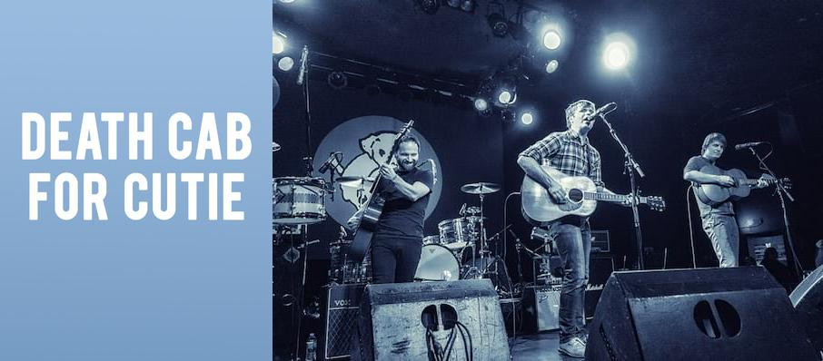 Death Cab For Cutie at Birch North Park Theatre