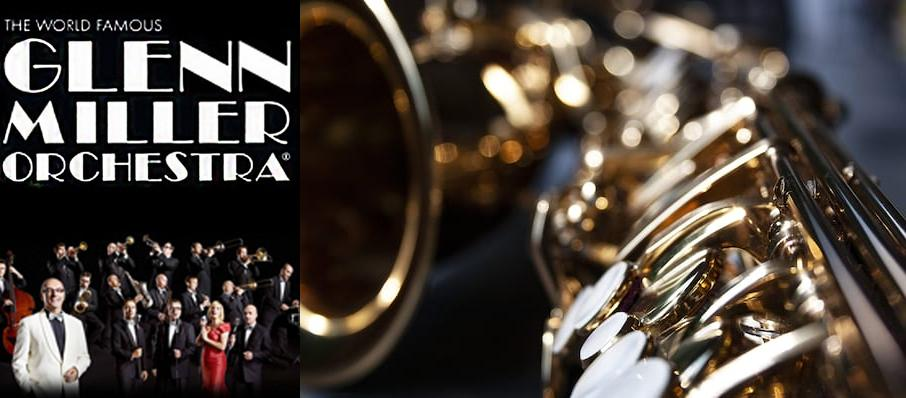 Glenn Miller Orchestra at Jacobs Music Center