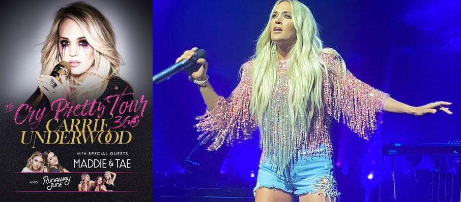 Carrie Underwood at Valley View Casino Center