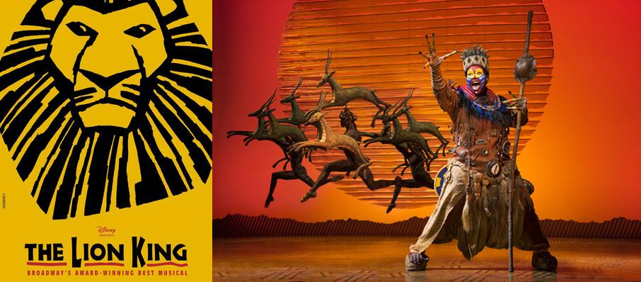 The Lion King at San Diego Civic Theatre