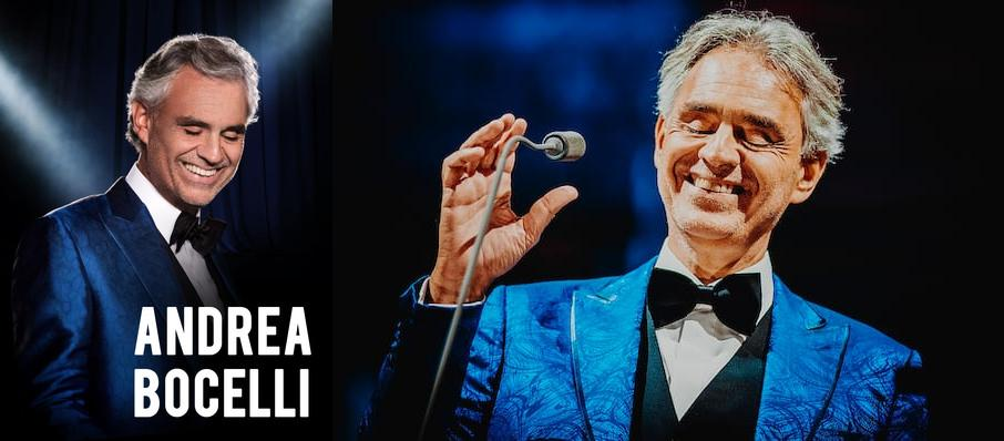 Andrea Bocelli at Valley View Casino Center