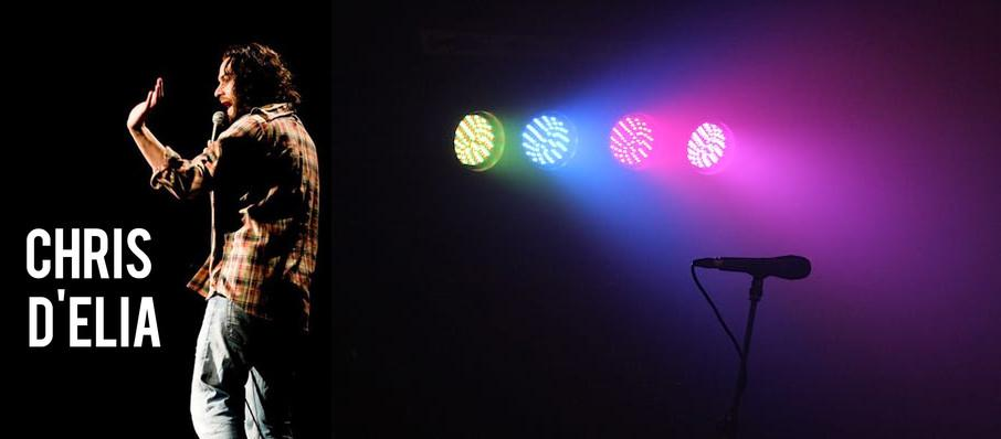 Chris D'Elia at Spreckels Theatre