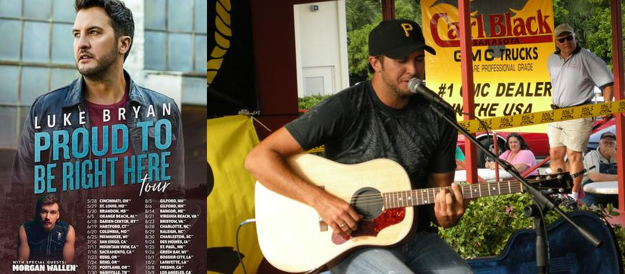 Luke Bryan at North Island Credit Union Amphitheatre