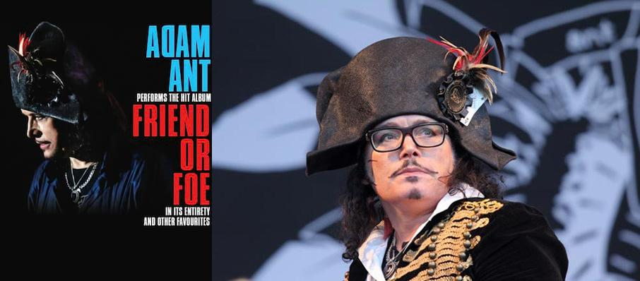 Adam Ant at Humphreys Concerts by the Beach