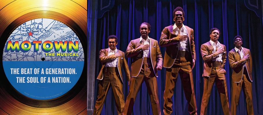 Motown - The Musical at San Diego Civic Theatre