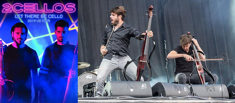 2Cellos at San Diego Open Air Theatre