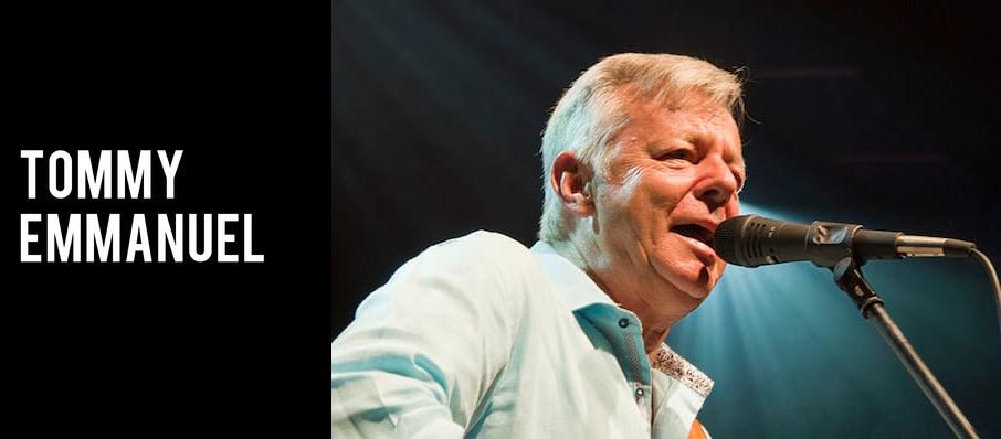 Tommy Emmanuel at Music Box - San Diego