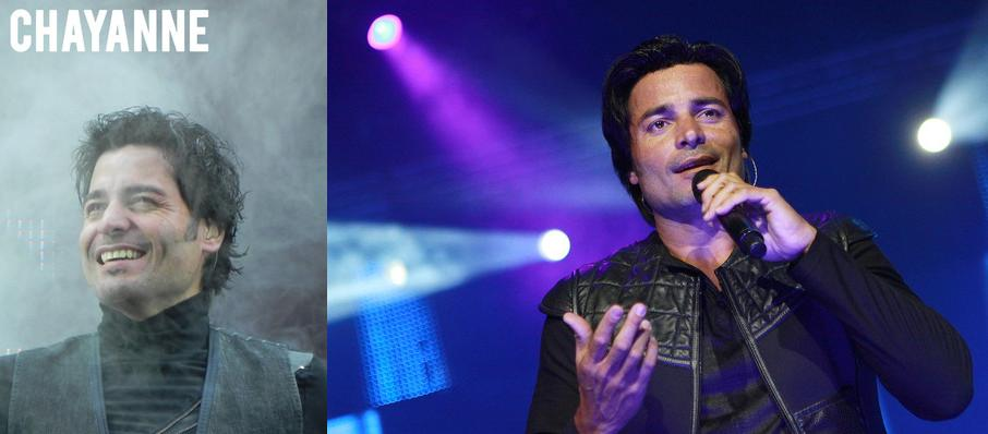 Chayanne at Valley View Casino Center