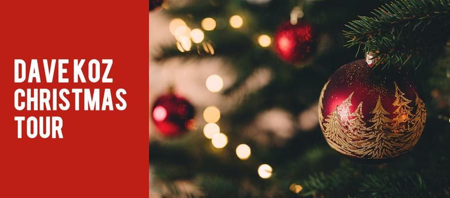 Dave Koz Christmas Tour at Balboa Theater