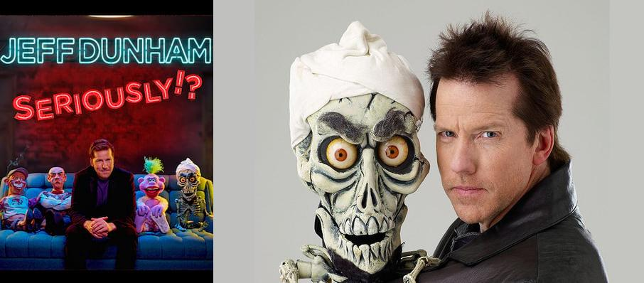 Jeff Dunham at Palomar Starlight Theater