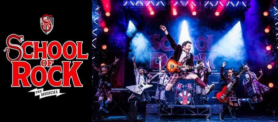 School of Rock at San Diego Civic Theatre