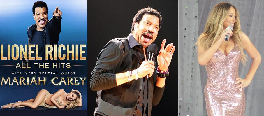 Lionel Richie with Mariah Carey at Viejas Arena