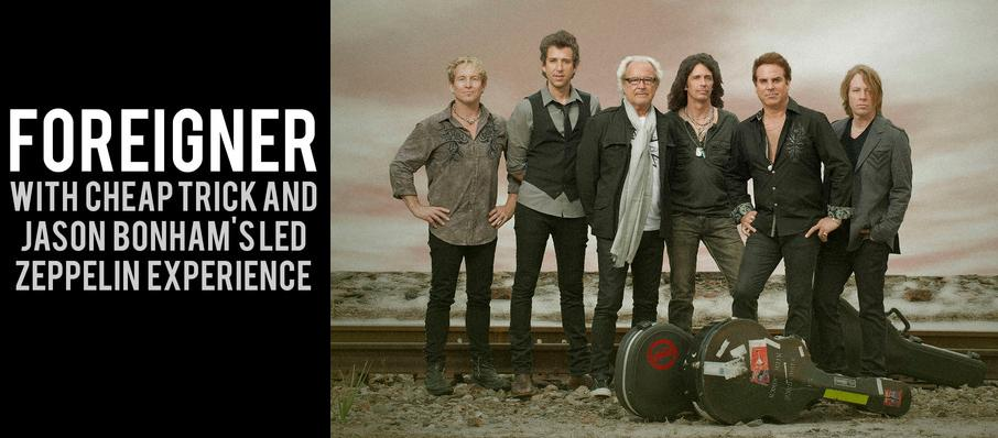 Foreigner with Cheap Trick and Jason Bonhams Led Zeppelin Experience at Sleep Train Amphitheatre
