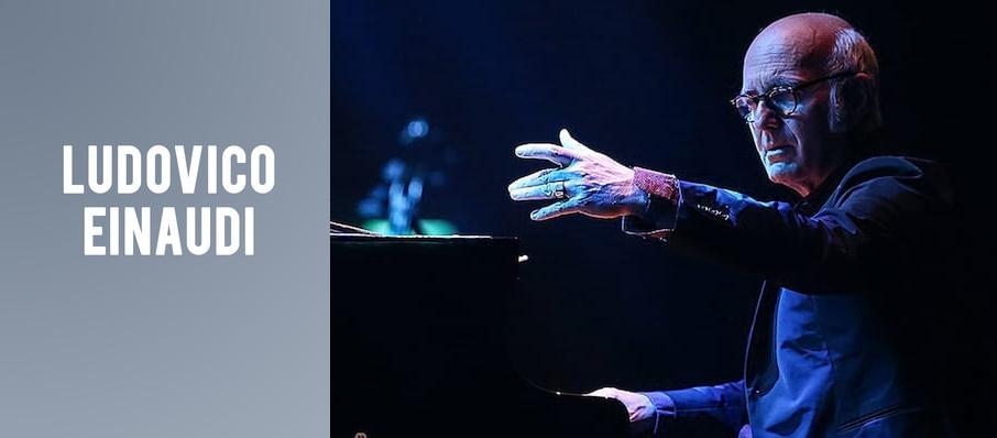Ludovico Einaudi at Jacobs Music Center