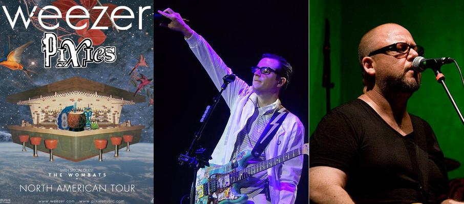 Weezer and Pixies at Mattress Firm Amphitheatre