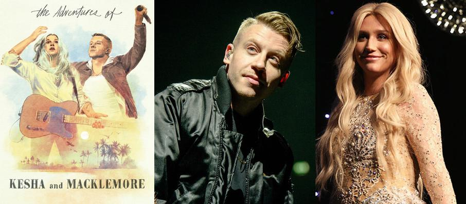 Kesha and Macklemore at Mattress Firm Amphitheatre