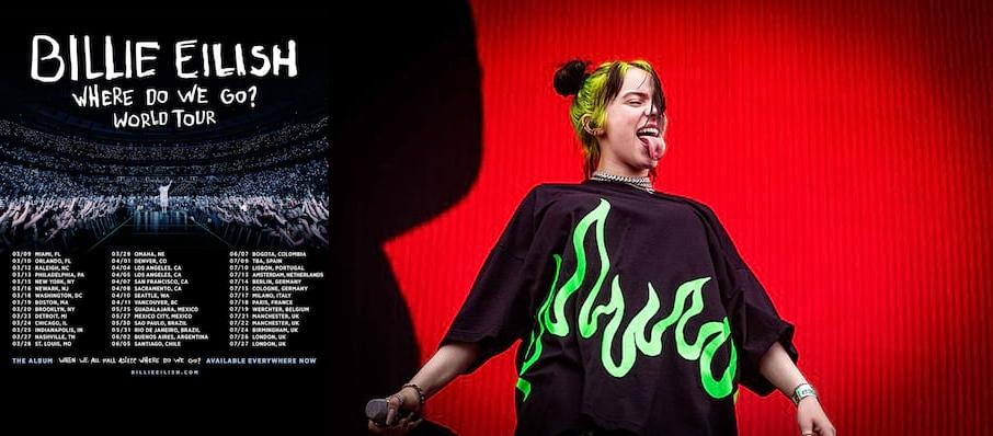 Billie Eilish at Cal Coast Credit Union Open Air Theatre