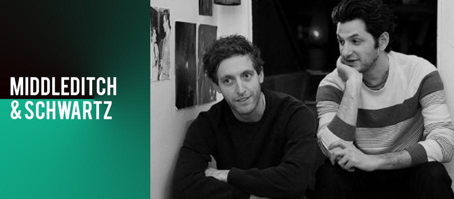 Middleditch and Schwartz at Balboa Theater