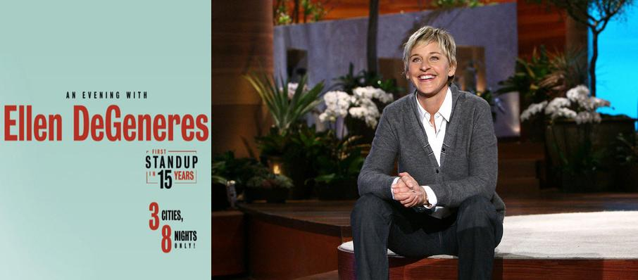 Ellen DeGeneres at Balboa Theater