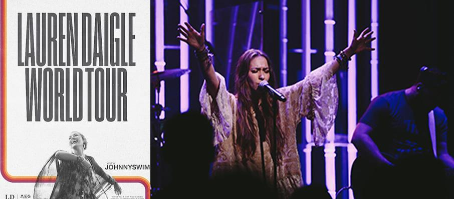 Lauren Daigle at Pechanga Arena
