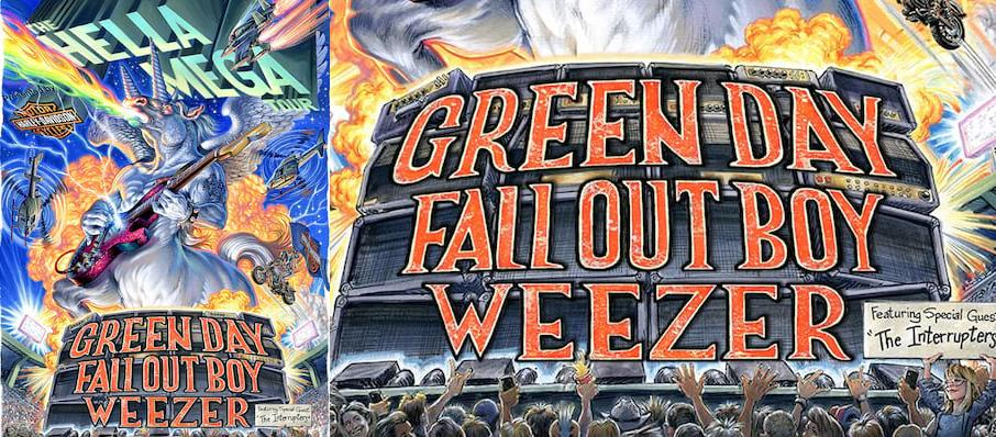 Green Day with Fall Out Boy and Weezer at PETCO Park