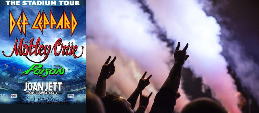 Motley Crue and Def Leppard with Poison at PETCO Park