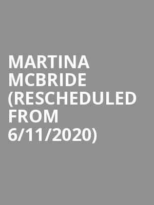 Martina McBride (Rescheduled from 6/11/2020) at Del Mar Fairgrounds