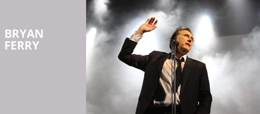 Bryan Ferry, Humphreys Concerts by the Beach, San Diego