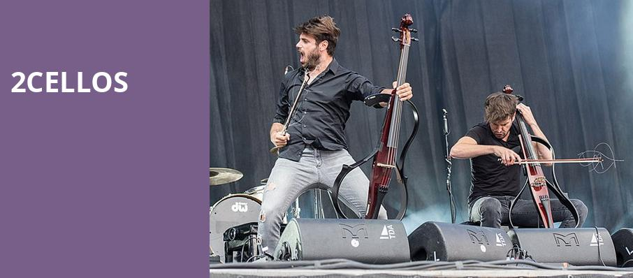 2Cellos, San Diego Open Air Theatre, San Diego