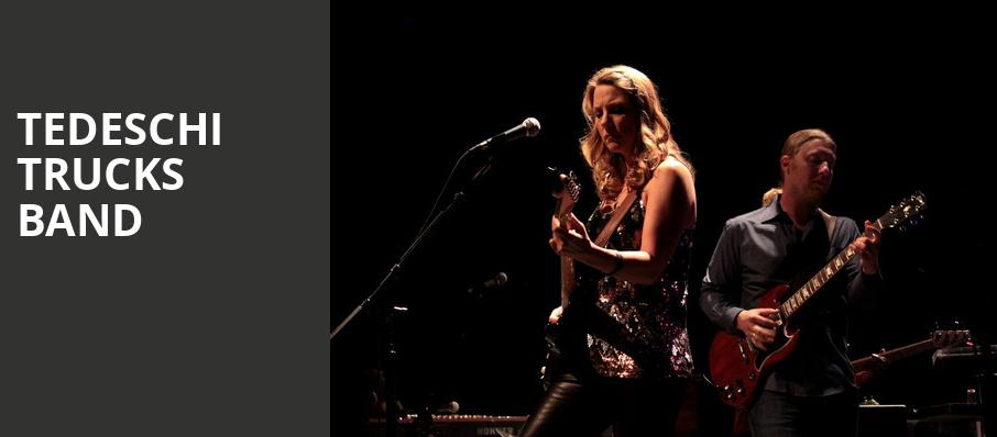 Tedeschi Trucks Band, San Diego Civic Theatre, San Diego