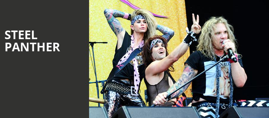 Steel Panther, House of Blues, San Diego