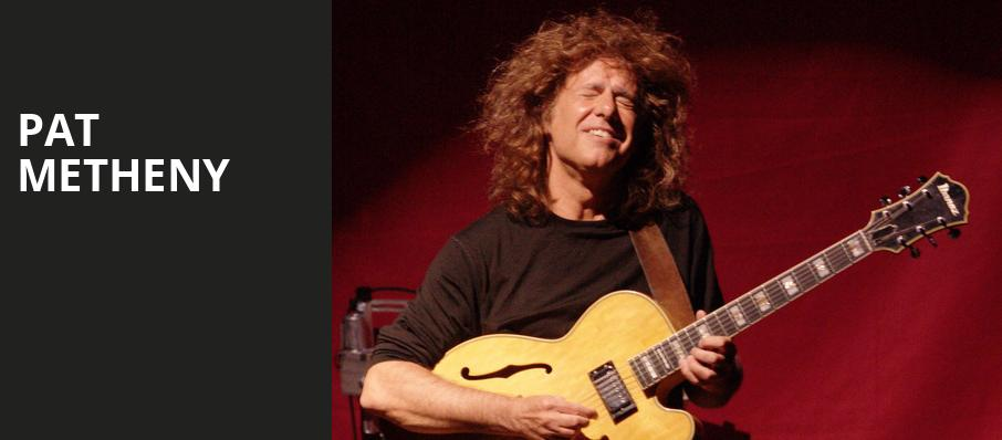 Pat Metheny, Jacobs Music Center, San Diego