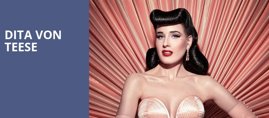 Dita Von Teese, House of Blues, San Diego