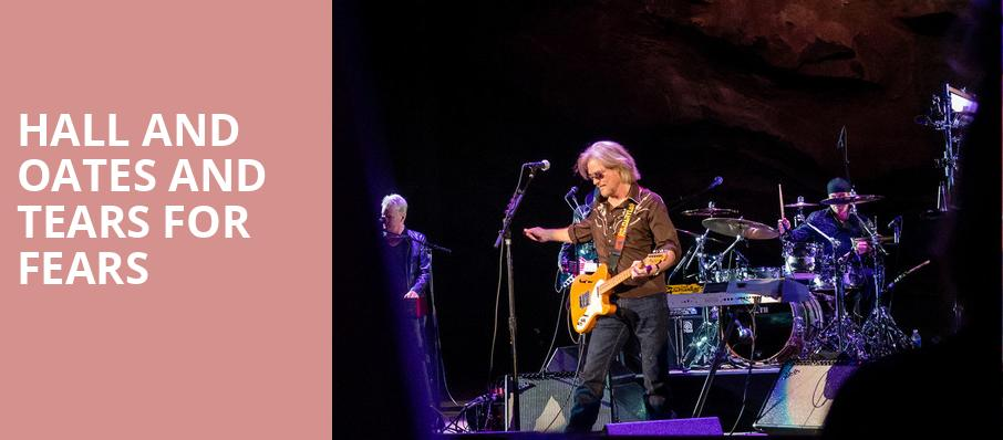 Hall and Oates and Tears for Fears, Valley View Casino Center, San Diego
