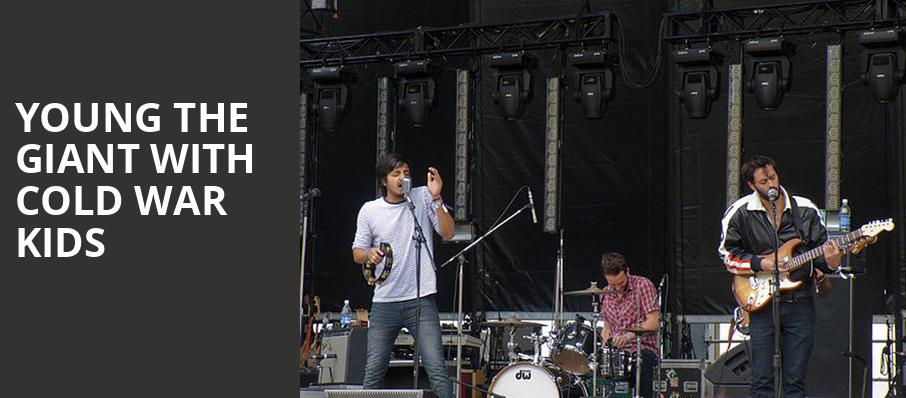 Young the Giant with Cold War Kids, San Diego Open Air Theatre, San Diego
