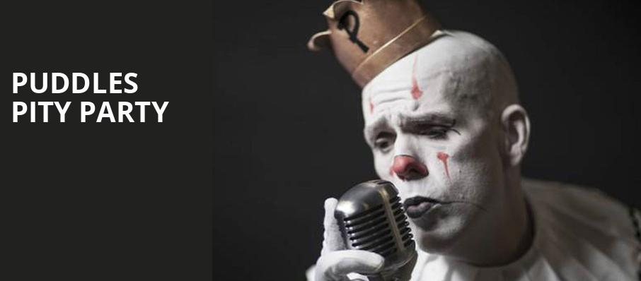 Puddles Pity Party, Balboa Theater, San Diego