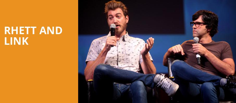 Rhett and Link, House of Blues, San Diego
