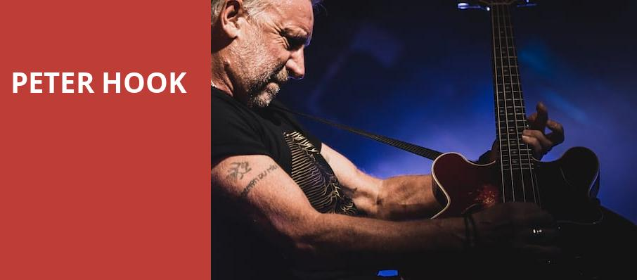 Peter Hook, House of Blues, San Diego