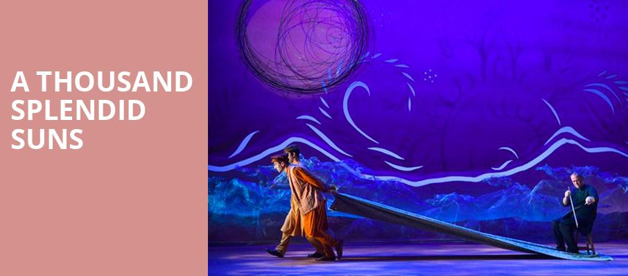 A Thousand Splendid Suns, Old Globe Theater, San Diego