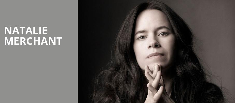 Natalie Merchant, Jacobs Music Center, San Diego