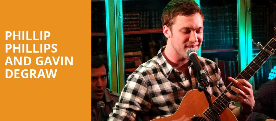 Phillip Phillips and Gavin DeGraw, Humphreys Concerts by the Beach, San Diego