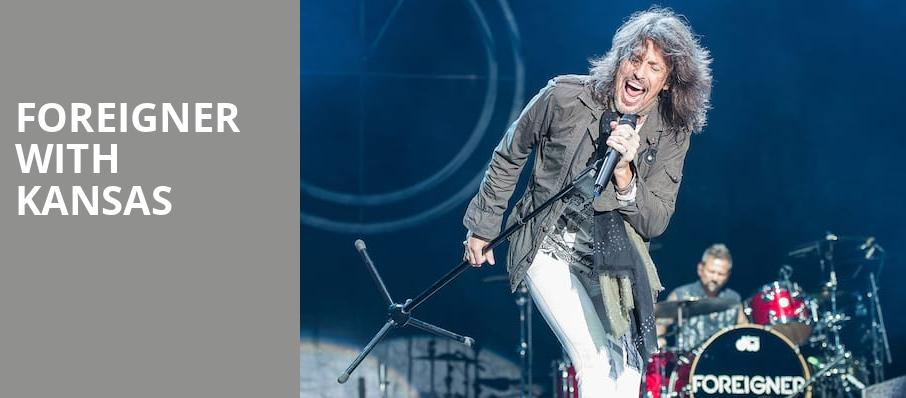 Foreigner with Kansas, North Island Credit Union Amphitheatre, San Diego