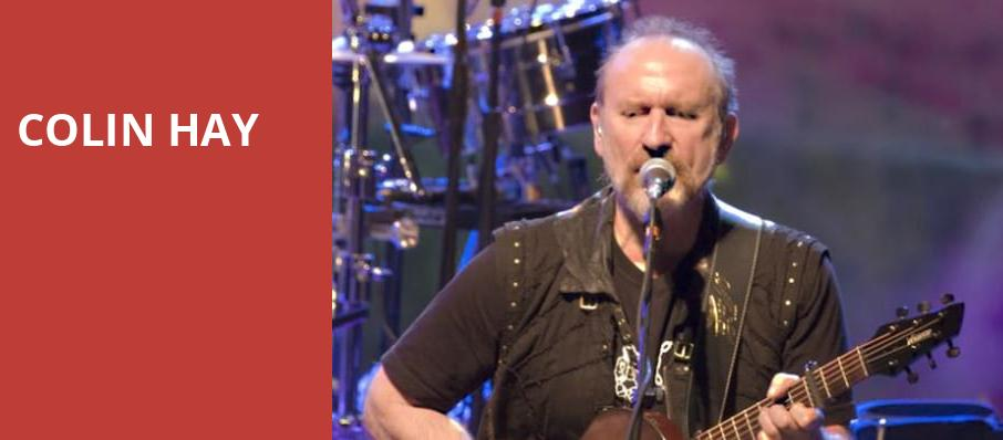 Colin Hay, Belly Up Tavern, San Diego