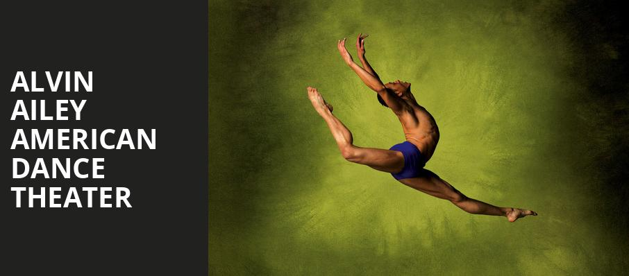 Alvin Ailey American Dance Theater, Jacobs Music Center, San Diego