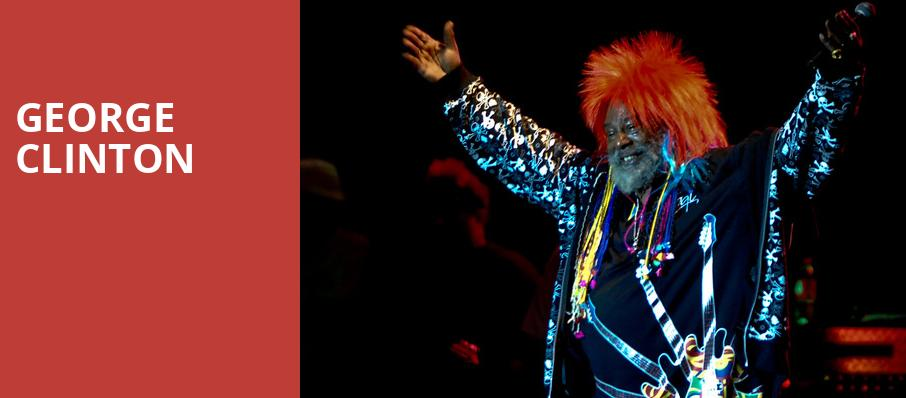 George Clinton, Birch North Park Theatre, San Diego