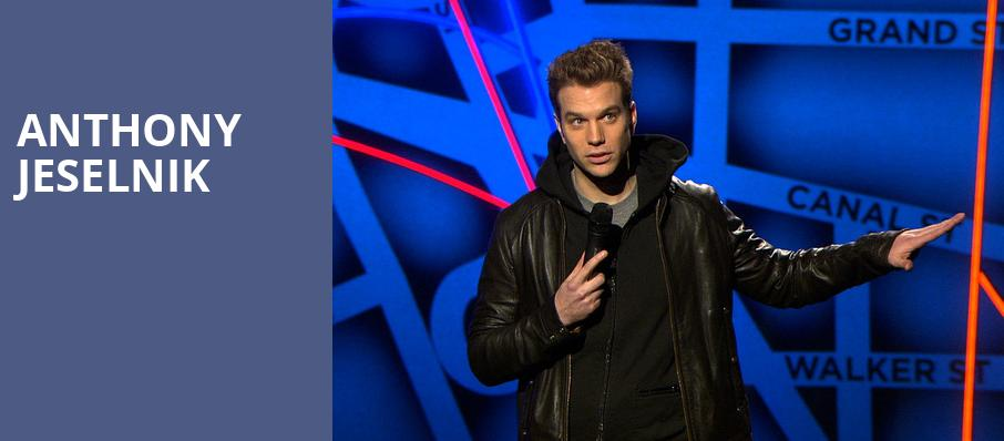 Anthony Jeselnik, Balboa Theater, San Diego