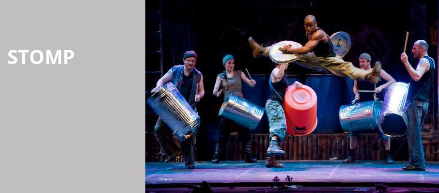 Stomp, San Diego Civic Theatre, San Diego